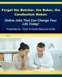 Work at Home Resource Guide